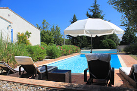 Sitting area at L'lavandes, holiday home for rent in Languedoc